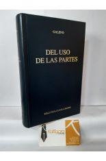 DEL USO DE LAS PARTES. BIBLIOTECA CLÁSICA GREDOS 389