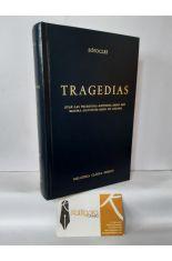 TRAGEDIAS (ÁYAX, LAS TRAQUINIAS, ANTÍGONA, EDIPO REU, ELECTRA, FILOCTETES, EDIPO EN COLONO). BIBLIOTECA CLÁSICA GREDOS 40