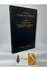 CARACTERES - CARTAS DE PESCADORES, CAMPESINOS, PARÁSITOS Y CORTESANAS. BIBLIOTECA CLÁSICA GREDOS 119