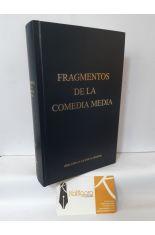 FRAGMENTOS DE LA COMEDIA MEDIA. BIBLIOTECA CLÁSICA GREDOS 361
