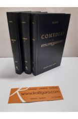 COMEDIAS I, II, III (3 TOMOS). BIBLIOTECA CLÁSICA GREDOS 170, 218, 302