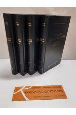 HISTORIA DE LAS GUERRAS (4 TOMOS). I-II, PERSA. III-IV, VÁNDALA. V-VI, GÓTICA. LIBROS VII-VIII, GÓTICA. BIBLIOTECA CLÁSICA GREDOS 280, 282, 355, 358
