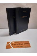 OBRAS I Y II. (2 TOMOS). BIBLIOTECA CLÁSICA GREDOS 240 Y 241