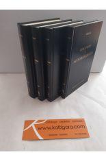 DISCURSOS - DISCURSOS JULIANEOS - AUTOBIOGRAFÍA - CARTAS (4 TOMOS). BIBLIOTECA CLÁSICA GREDOS 290, 292, 293, 336