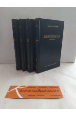 DIONISÍACAS, CANTOS I A XLVIII (4 TOMOS). BIBLIOTECA CLÁSICA GREDOS 208, 286, 319, 370