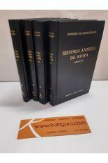 HISTORIA ANTIGUA DE ROMA (4 TOMOS), LIBROS I A XI Y FRAGMENTOS DE LOS LIBROS XII A XX. BIBLIOTECA CLÁSICA GREDOS 73, 74, 123 Y 124