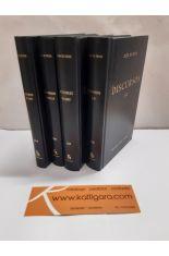 DISCURSOS (4 TOMOS), LIBROS I A LXXX. BIBLIOTECA CLÁSICA GREDOS 110, 127, 232, 274