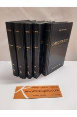 DISCURSOS (5 TOMOS). BIBLIOTECA CLÁSICA GREDOS 106, 233, 234, 238 Y 262