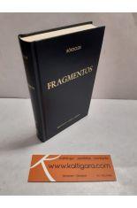 FRAGMENTOS. BIBLIOTECA CLÁSICA GREDOS 62