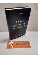 OBRAS Y FRAGMENTOS: TEOGONÍA - TRABAJOS Y DÍAS - ESCUDO - FRAGMENTOS - CERTAMEN. BIBLIOTECA CLÁSICA GREDOS 13