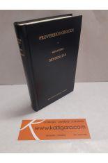 PROVERBIOS GRIEGOS - SENTENCIAS (MENANDRO) BIBLIOTECA CLÁSICA GREDOS 272