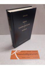 ODAS - CANTO SECULAR - EPODOS. BIBLIOTECA CLÁSICA GREDOS 360