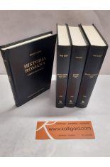 HISTORIA ROMANA. LIBROS I-LX (4 TOMOS). BIBLIOTECA CLÁSICA GREDOS 325, 326, 393 Y 395