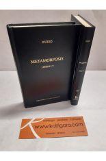 METAMORFOSIS. LIBROS I-V Y VI-X (2 TOMOS). BIBLIOTECA CLÁSICA GREDOS 365 Y 400