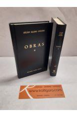 OBRAS I Y II (2 TOMOS). BIBLIOTECA CLÁSICA GREDOS 146 Y 147