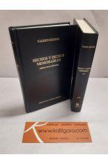 HECHOS Y DICHOS MEMORABLES. LIBROS I-VI Y VII-IX -EPÍTOMES (2 TOMOS). BIBLIOTECA CLÁSICA GREDOS 311 Y 312