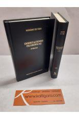 DISERTACIONES FILOSÓFICAS. LIBROS I-XVIII Y XVIII-XLI (2 TOMOS). BIBLIOTECA CLÁSICA GREDOS 330 Y 331