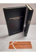 FRAGMENTOS DE POESÍA LATINA ÉPICA Y LÍRICA I Y II (2 TOMOS). BIBLIOTECA CLÁSICA GREDOS 317 Y 318