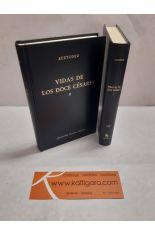 VIDAS DE LOS DOCE CÉSARES (2 TOMOS). BIBLIOTECA CLÁSICA GREDOS 167 Y 168