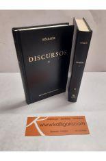 DISCURSOS I Y II (2 TOMOS). BIBLIOTECA CLÁSICA GREDOS 23 Y 29