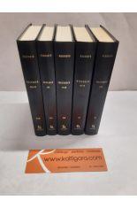 HISTORIA. LIBROS I-IX (5 TOMOS). BIBLIOTECA CLÁSICA GREDOS 3, 21, 39, 82 Y 130