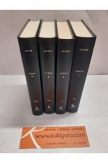OBRAS I, II, III, IV (4 TOMOS). BIBLIOTECA CLÁSICA GREDOS 42, 113, 138, 172.