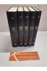 BANQUETE DE LOS ERUDITOS. LIBROS I-XIII (5 TOMOS). BIBLIOTECA CLÁSICA GREDOS 257, 258, 349, 350 Y 413