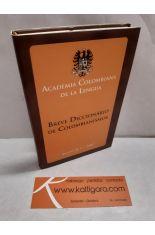 BREVE DICCIONARIO DE COLOMBIANISMOS