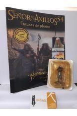 HOMBRE-SALVAJE EN LAS LLANURAS DE ROHAN (REVISTA + FIGURA DE PLOMO) EL SEÑOR DE LOS ANILLOS 54
