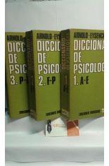 DICCIONARIO DE PSICOLOGÍA. 3 VOLÚMENES