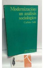 MODERNIZACIÓN: UN ANÁLISIS SOCIOLÓGICO