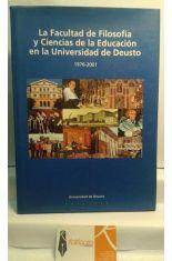 FACULTAD FILOSOFÍA Y CIENCIAS DE LA EDUCACIÓN EN LA UNIVERSIDAD DE DEUSTO 1976-2001